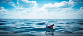 Paper Boat Panorama