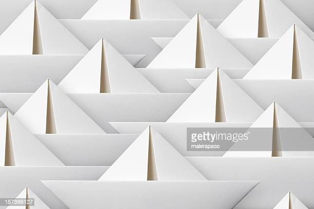 Papier-Boote