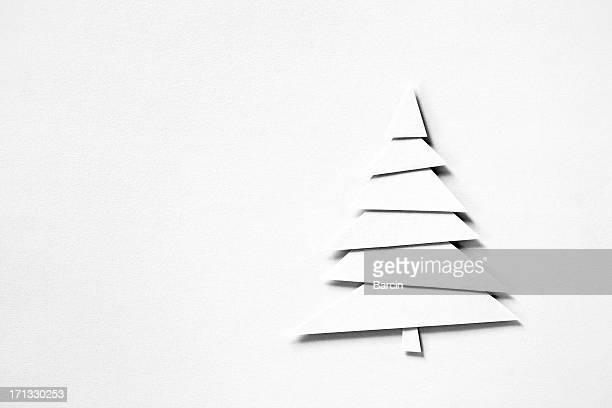 Papier mit Weihnachtsbaum-Motiv