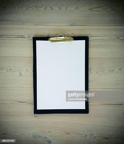 Paper clipboard