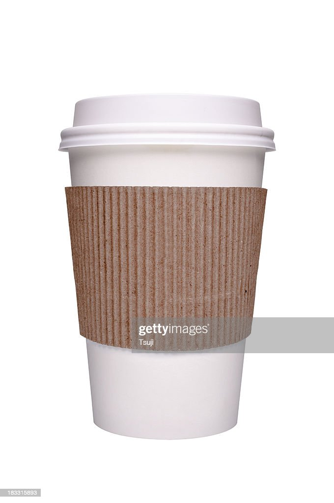 Paper coffee cup : Stock Photo