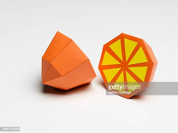 Paper Craft Orange on White