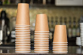 Paper cups for drinks