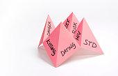 Paper fortune teller dangers of dating female
