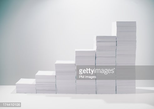 Paper growth : Stock Photo