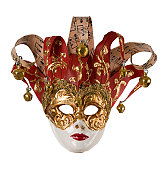 Paper mache mask from Rome