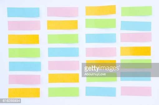 paper note,  In a reminder A major rescue operation. : Stock Photo