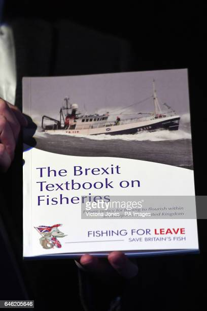 A paper on the impact of Brexit on the fisheries industry launched by Nigel Farage and Owen Paterson in central London