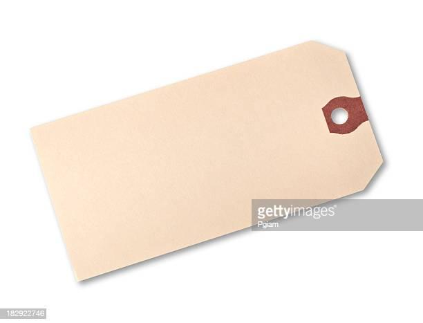 Paper price hang tag