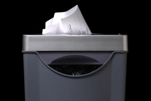 Paper shredder stock photos and pictures getty images for Papierversnipperaar action