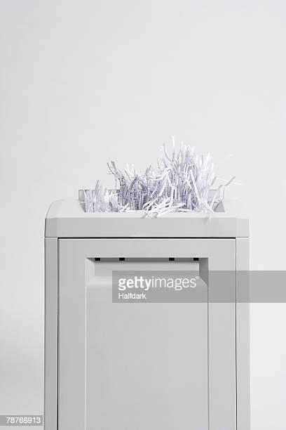 A paper shredder