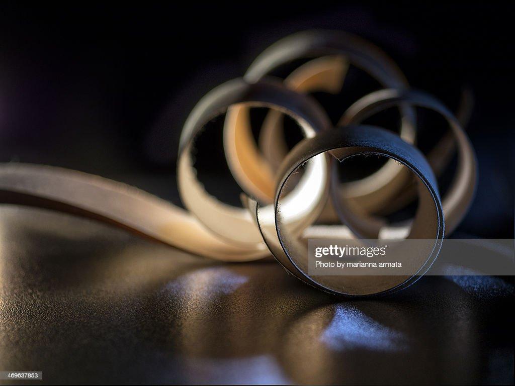 paper swirls : Stock Photo