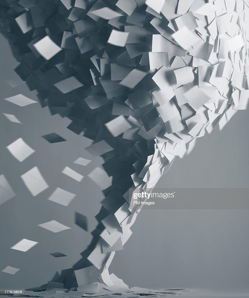 Paper tornado