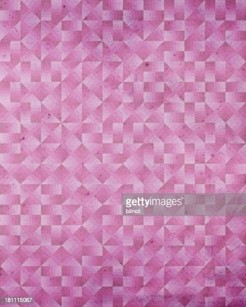 paper with Art Deco geometric pattern