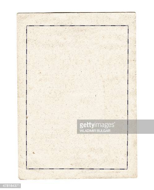 Paper with border
