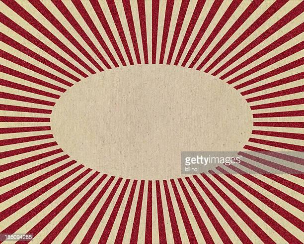 paper with glitter starburst pattern