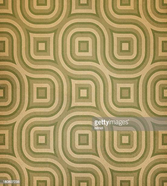 paper with green modern pattern