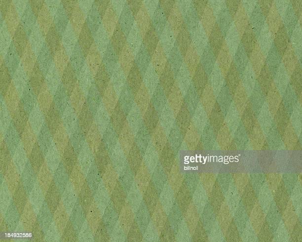 紙、グリーンの格子模様