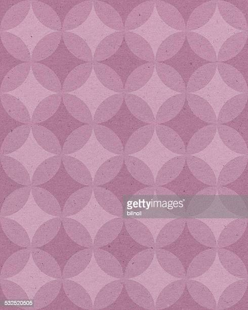 paper with pink geometric pattern
