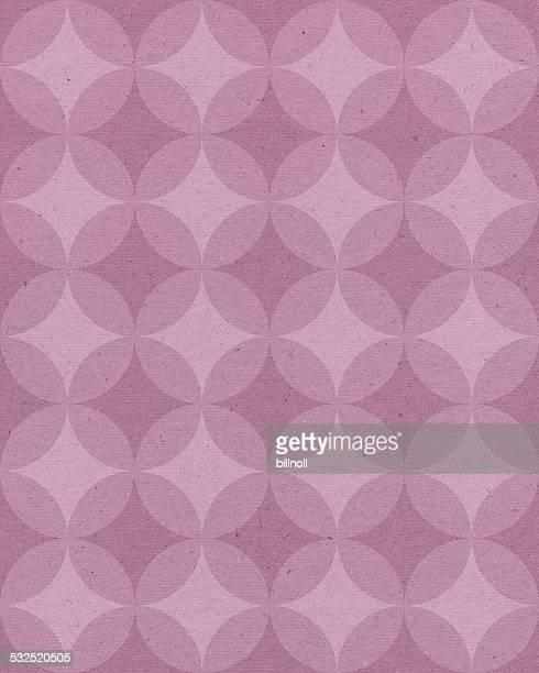Papier avec motif géométrique rose