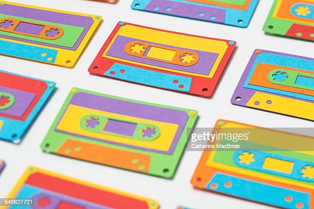 Paper-cut Cassette Tapes...