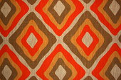 Old fashioned wallpaper of the seventies