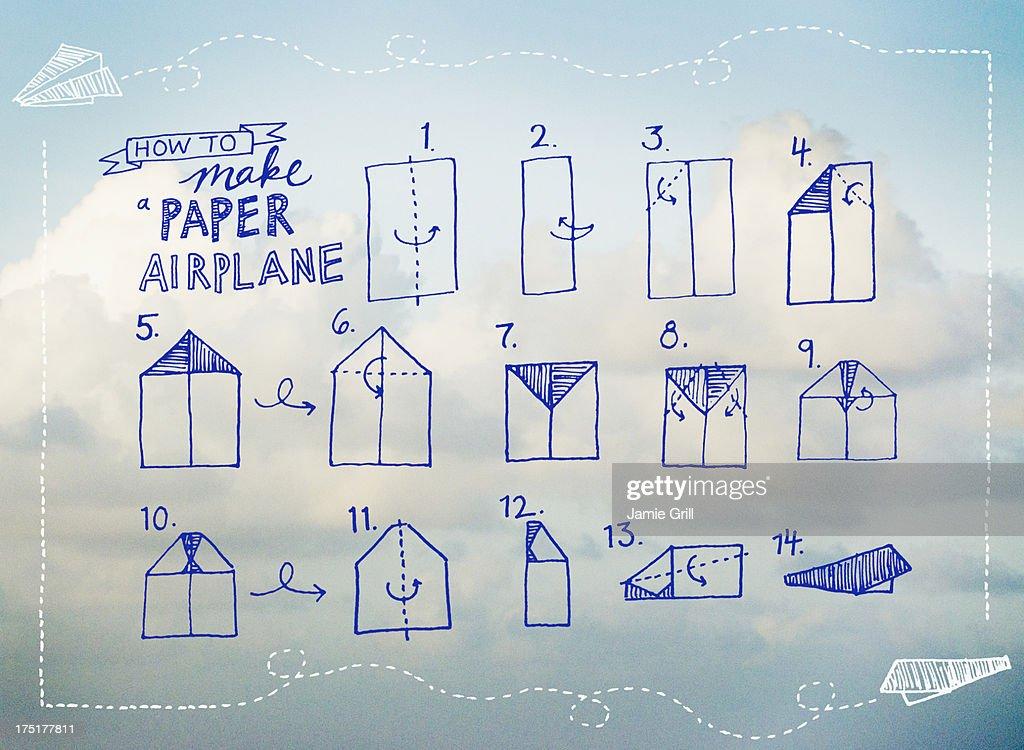 Paperplane instruction