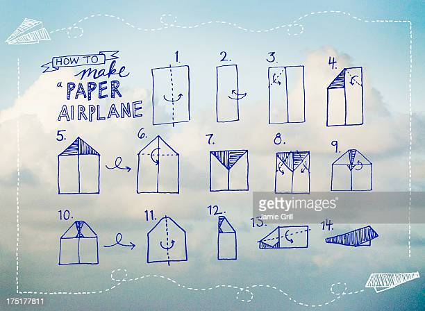 Paperplane instruction