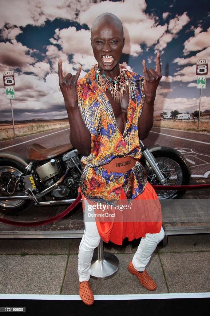 Papis Loveday attends the summer party at P1 on July 9, 2013 in Munich, Germany.