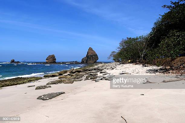 Papuma Beach East Java Indonesia.