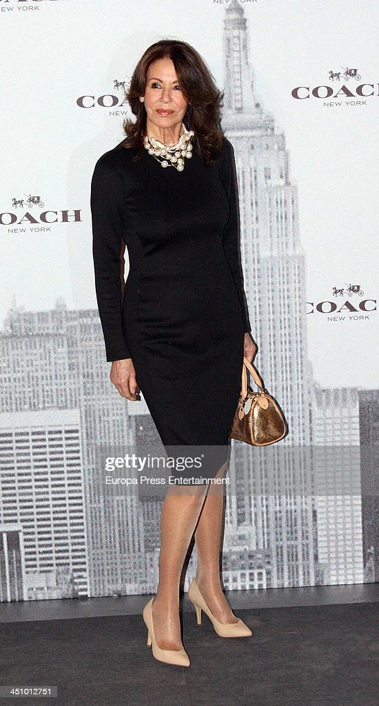 Paquita Torres attendS the opening of 'Coach New York ...