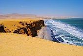 Paracas Coastline in Paracas Nature Reserve, Peru