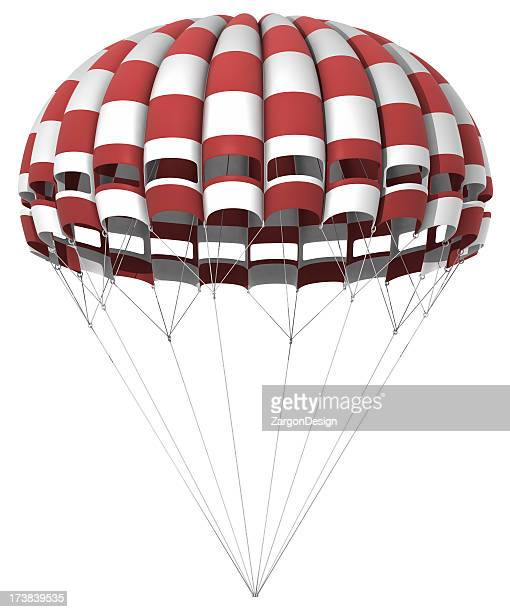Parachute Isolated on white