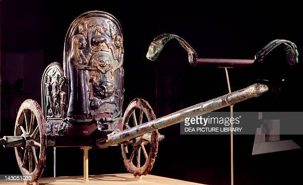 Parade chariot bronze from Monteleone di Spoleto Etruscan Civilization 6th Century BC New York The Metropolitan Museum Of Art