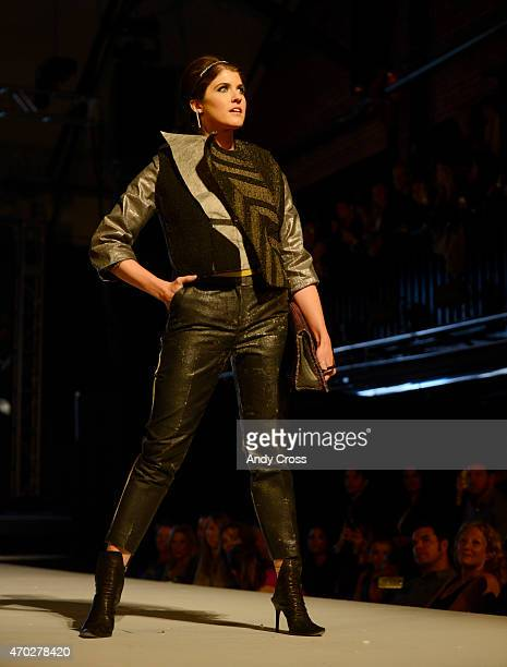 Paradigm Interiors LLC/Patcraft entry for the 2015 PretaPorter fashion show Future Undefined hosted by the International Interior Design Association...