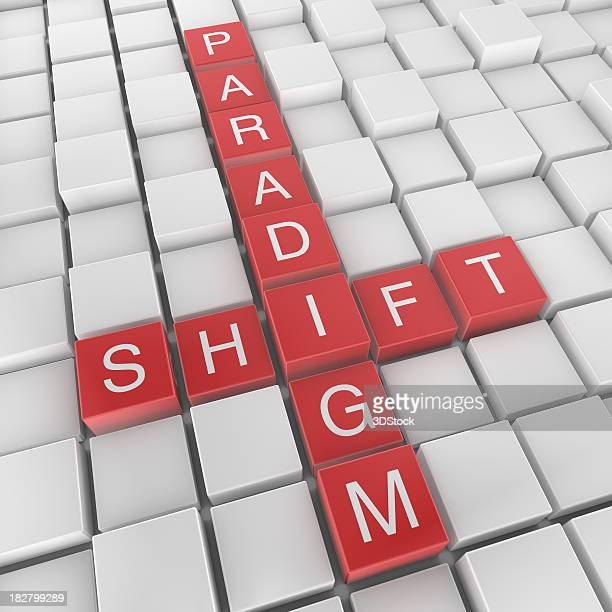 Paradigm shift crossword