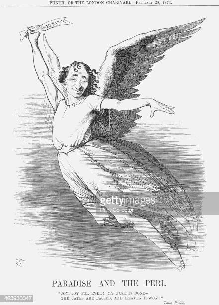 'Paradise and the Peri' 1874 Mr Disraeli is taken by the wings of happiness The General Election of the 5th March 1874 had seen the Conservatives...