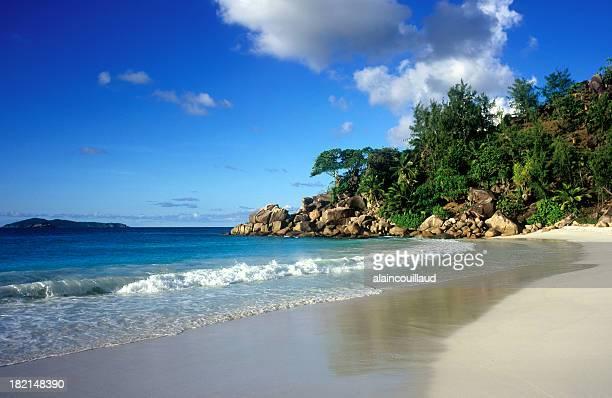 Paradise beach, islas Seychelles.