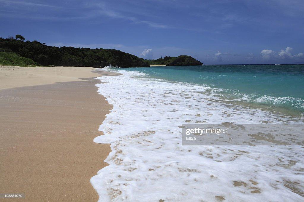 Paradise Beach, Yoron, Oshima, Kagoshima, Japan : Stock Photo