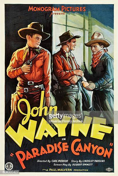 'Paradise Canyon' a 1935 western movie starring John Wayne