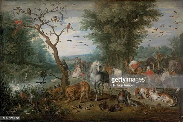 Paradise Landscape with Animals Found in the collection of Szepmuveszeti Muzeum Budapest