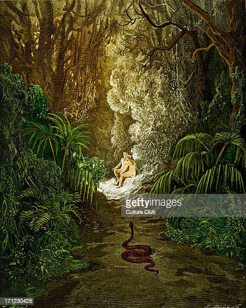 Adam And Eve In Garden Of Eden Stock Photos and Pictures ...