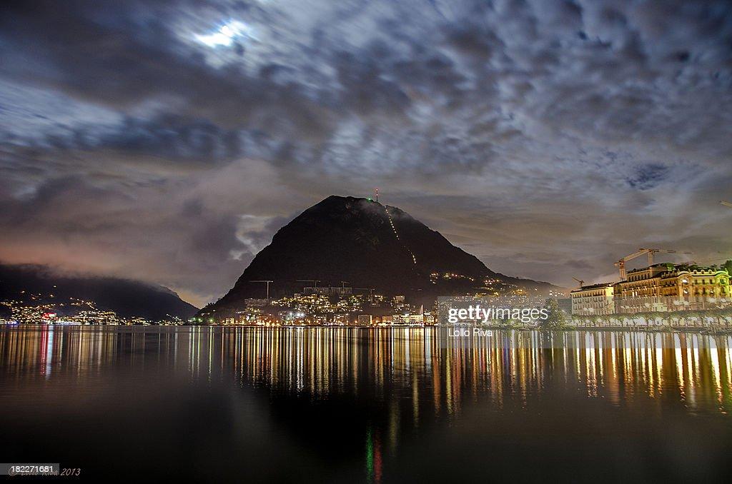 Paradiso and San Salvatore by Night