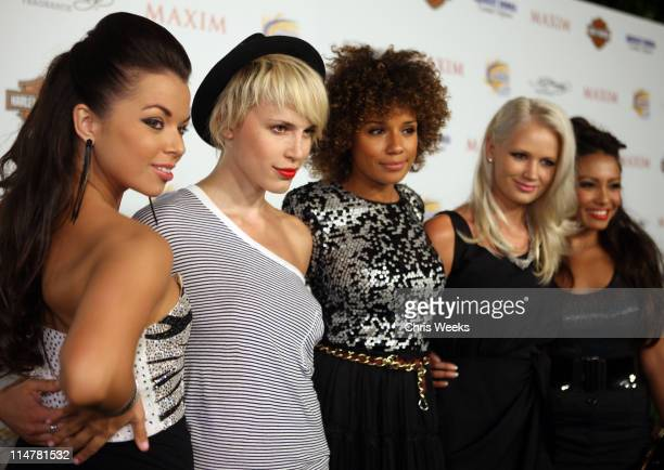 Paradiso Girls arrive at the 11th annual Maxim Hot 100 Party with HarleyDavidson ABSOLUT VODKA Ed Hardy Fragrances and ROGAINE held at Paramount...