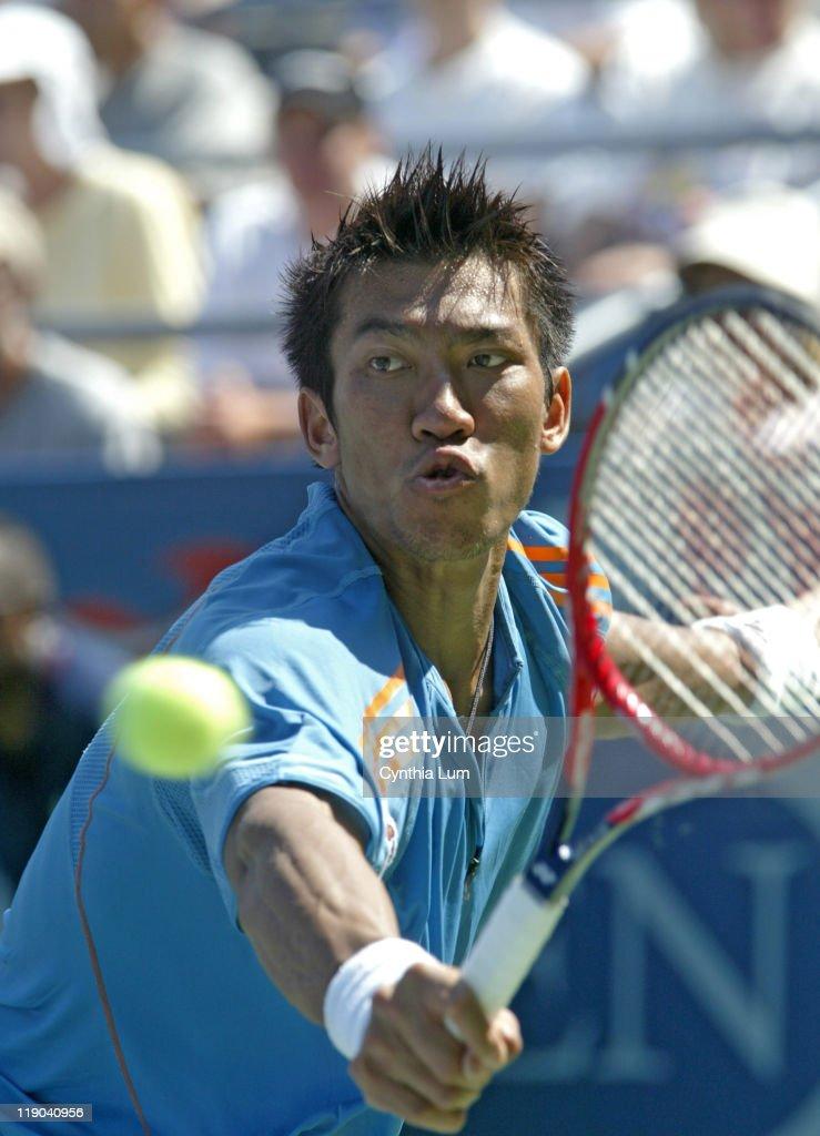 2005 US Open - Men's Singles - Second Round - Nikolay Davydenko vs Paradorn