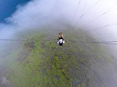 Paraglider point of view