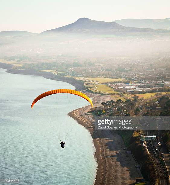 Paragliding off Killiney Hill