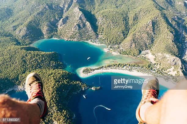 Paragliding über Oludeniz Blue Lagoon