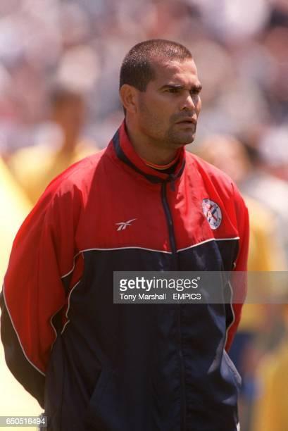 Paraguay captain Jose Luis Chilavert