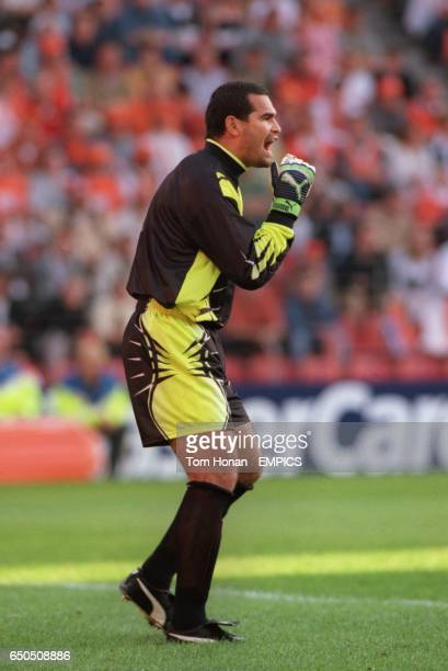Paraguay goalkeeper Jose Luis Chilavert